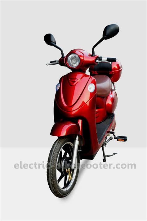E Bike 500 Watt Test by 18 Inch Electric Bike Scooter Classic Vespa Style 48v 500