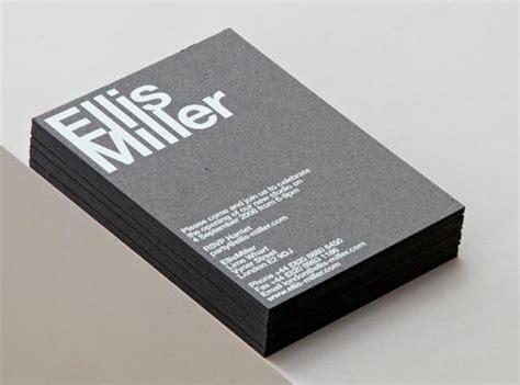 architects business cards ellis miller architects identity design by cartlidge levene