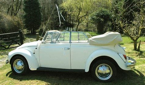 Wedding Car Beetle by Big Day Bug Classic Beetle Wedding Hire Beetle Wedding