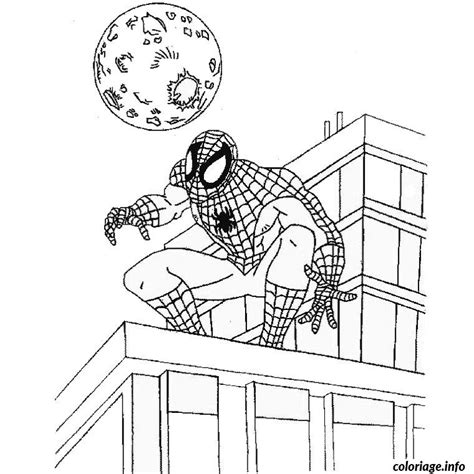 Coloriage De Noel Spiderman Dessin