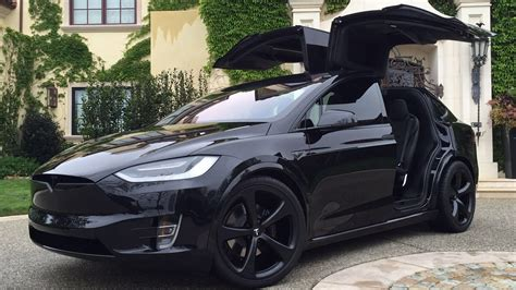 tesla model x signature edition p90d black out youtube