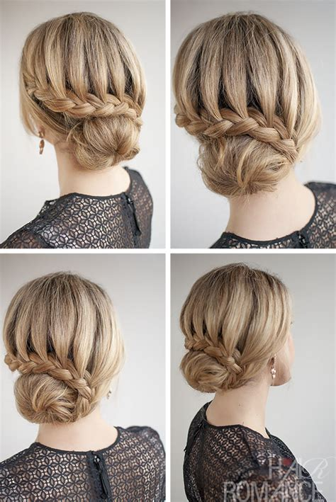 hair braided up into a bun style prom hairstyles 2014 modern magazin