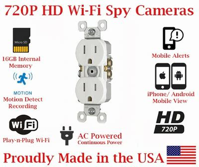 secureguard elite 720p hd wifi ac power receptacle outlet