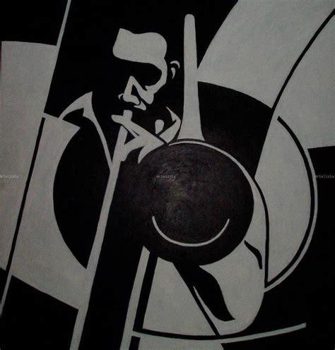 imagenes en lienzo negro trombon en blanco y negro patxo cruceta olalde artelista com