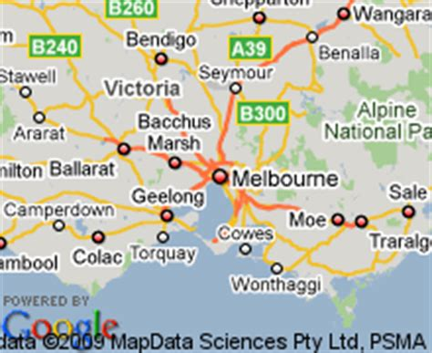 map  footscray victoria hotels accommodation