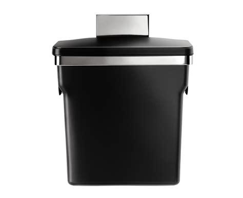 Simplehuman In Cabinet Bin by Simplehuman Kitchen Steel Frame Waste Rubish Cabinet Bin