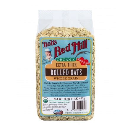 Bob S Mill Gluten Free Organic Cooking Rolled Berkualitas gluten free rolled oats bob s mill foods