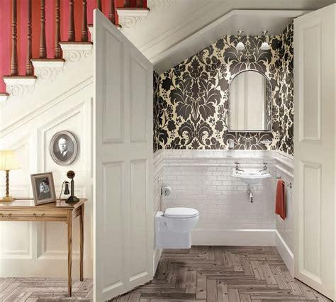 toilettenbecken mit dusche g 228 ste wc gestalten 16 sch 246 ne ideen f 252 r ein kleines bad