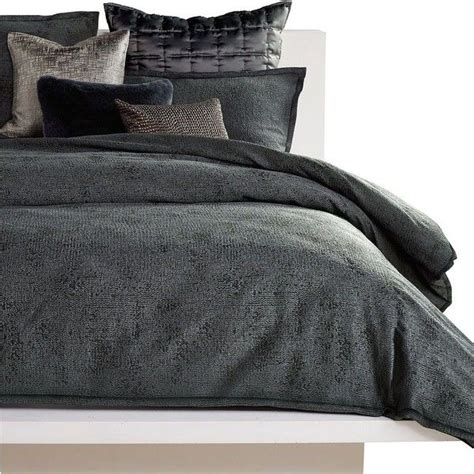 charcoal gray coverlet 1000 ideas about dark grey bedding on pinterest linen