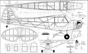 piper cub plans aerofred download free model airplane old aircraft hangar floor plans free home design ideas