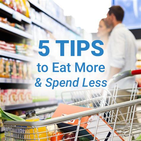 Tips To Eat Out For Less by 5 Tips To Eat More And Spend Less