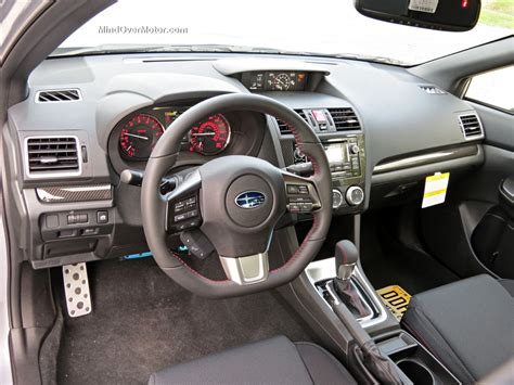 subaru wrx cvt interior 2015 subaru wrx cvt automatic reviewed 9 5 10 mind