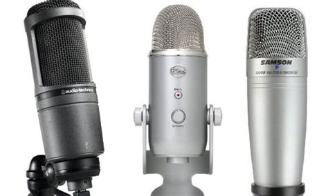 the best microphones for recording in 2015