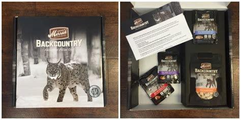 Murah Merrick Backcountry Real Rabbit Recipe Cuts 3oz giveaway merrick backcountry starter kit the conscious cat