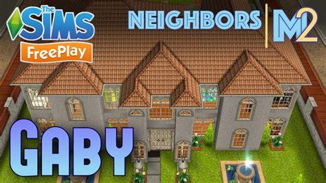 design clothes neighbor sims freeplay sims freeplay gaby s house neighbor s original design
