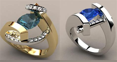 Designer Rings by Gorgeous And Innovative Designer Ring Creations Gorgeous
