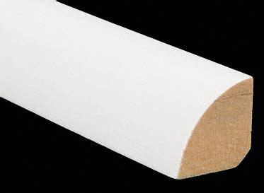 White Primed Quarter Round     Lumber Liquidators