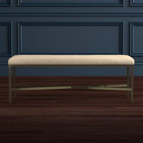 hair on hide bench skylar bench hair on hide beige williams sonoma