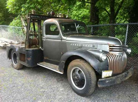 1946 chevrolet truck for sale chevrolet tow truck wrecker 1946 wreckers