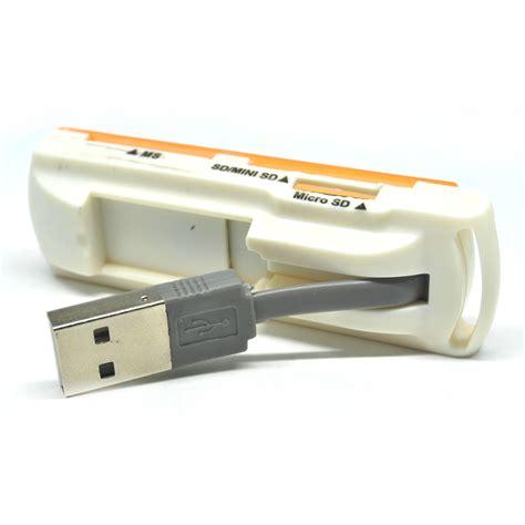 Usb 20 Ms Sd Mini Sd Micro Sd Card Reader Multifungsi Microsd multifunction microware usb 2 0 support ms sd mini sd micro sd orange jakartanotebook