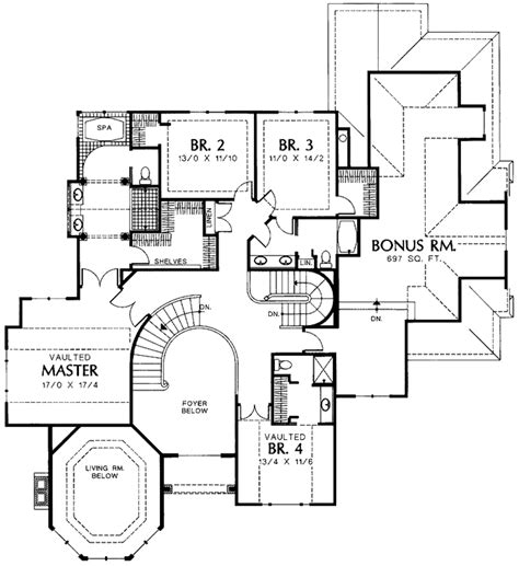 tudor floor plans tudor style house plan 4 beds 4 baths 3870 sq ft plan