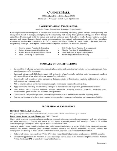 Marketing Director Resume by Marketing Director Resume Director Of Advertising And