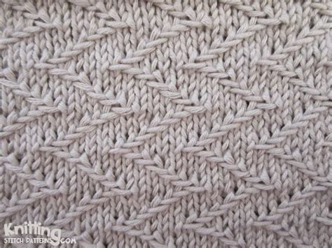 zig zag or chevron stitch pattern zigzag chevron stitches knitting stitch patterns