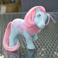 My Pony Blue N Pink vintage my pony milkyway purple pink white by