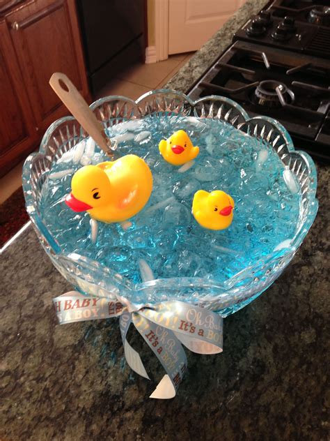 Green Baby Shower Punch by Nautical Baby Shower Punch This Idea With Green