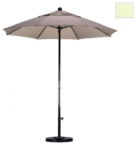Modern Patio Umbrellas California Umbrella 7 5 Ft Complete Fiberglass Market Umbrella Modern Outdoor Umbrellas