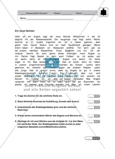 Deutschunterricht Lebenslauf Arbeitsbl 228 Tter Fachverlagen Meinunterricht De