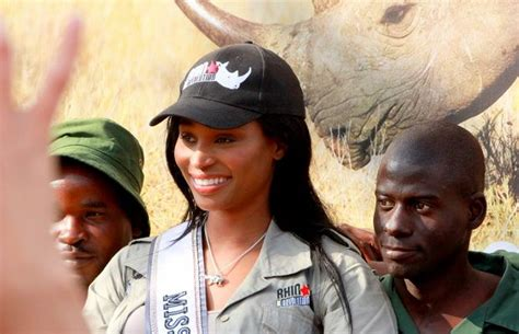 And Rosie Argue Miss Usa by Nana Meriwether Fight For Rhinos