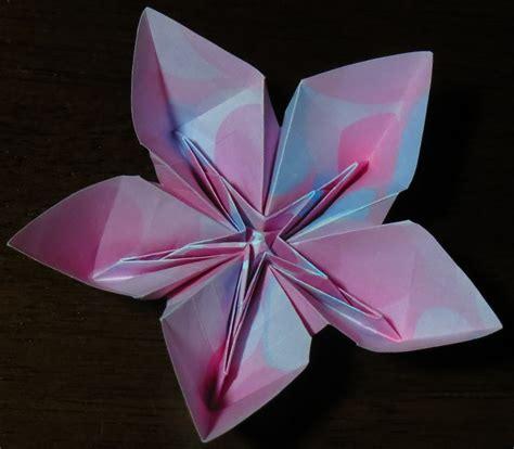 Origami 5 Petal Flower - origami 5 petal flower 28 images origami origami five