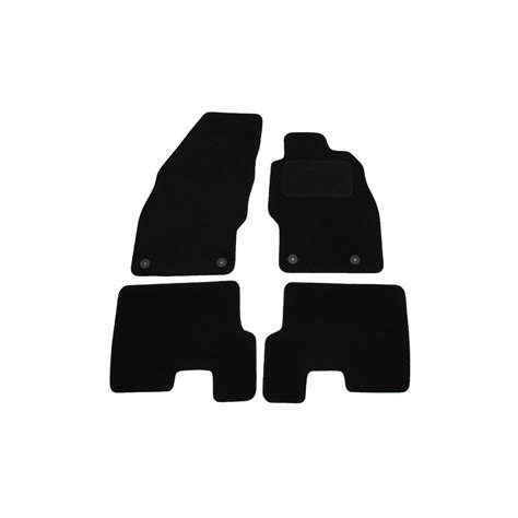 Car Mats For Vauxhall Corsa by Vauxhall Corsa D Set Of Four Black Car Mats With From Direct Car Parts