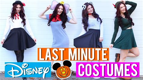 minute disney inspired costumes youtube