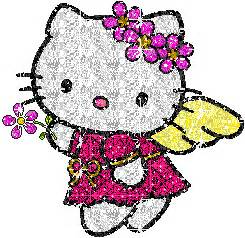 imagenes de hello kitty que brillen glitter gif picgifs hello kitty 143525