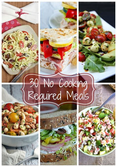 cuisine made easy 30 recipes for the busy home cook books 1000 images about food no cooking required on