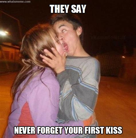 Meme Kiss - first kiss melolz just for fun funny memes jokes