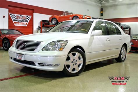 car engine repair manual 2004 lexus ls parking system 2004 lexus ls 430 stock m5122 for sale near glen ellyn il il lexus dealer