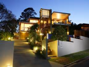Outdoor House by Outdoor Lighting How To Build A House