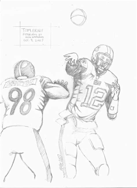 tom brady colouring pages page 2 az coloring pages