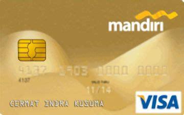 bca visa debit kartu kredit mandiri gold card cermati