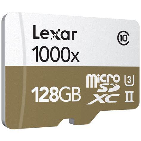 Micro Sd Lexar lexar 128gb professional 1000x microsdxc lsdmi128cbnl1000r b h