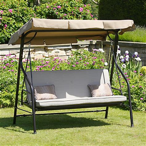 swing seat cushions homebase belvedere metal swing seat