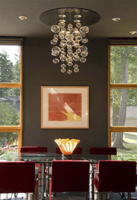 Dining Room Chandelier Ideas by Surprising Glass Ring Chandeliers Decorating Ideas Gallery