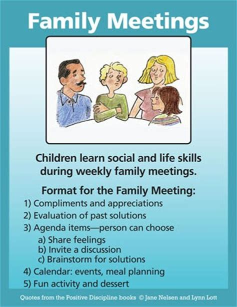 Kaos Be Positive 22 Tx positive discipline family meetings