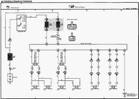 toyota granvia radio wiring diagram wiring diagram with
