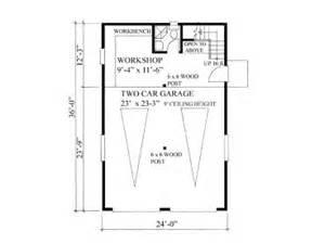 Barn Door Dimensions Garage Workshop Plans 2 Car Garage Workshop Plan With