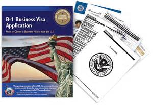 business visa b 1 business visa application b1 visa forms and requirements