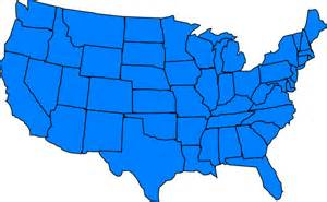 clip us map with states united states blue clip clipart panda free clipart
